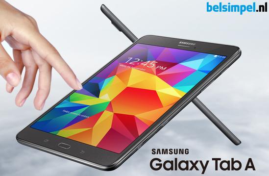 Samsung introduceert nieuwe tablet: Galaxy Tab A