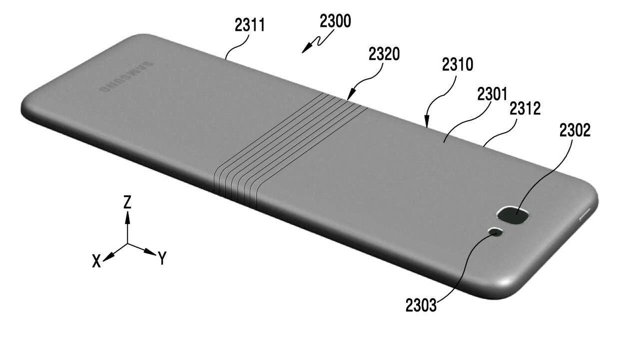 Opvouwbare Samsung