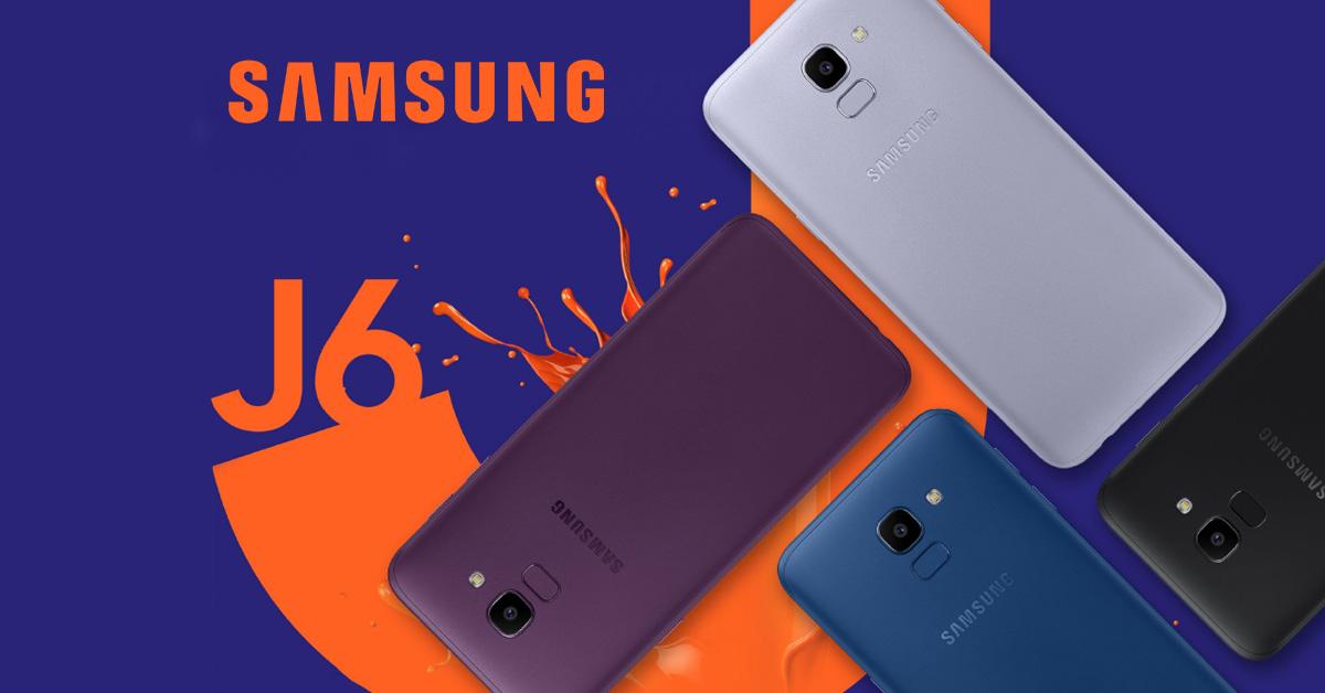 Samsung onthult Samsung Galaxy J6