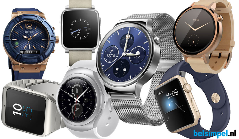 Alles over smartwatches