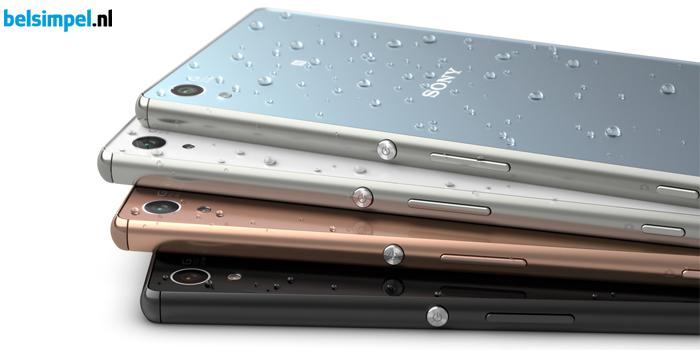 Sony Xperia Z3 Plus uit voorraad leverbaar bij Belsimpel.nl