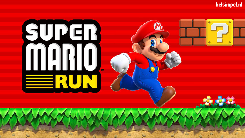 Mario maakt z'n debuut in de smartphonewereld!