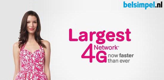 Als beste uit de test: het T-Mobile-netwerk!