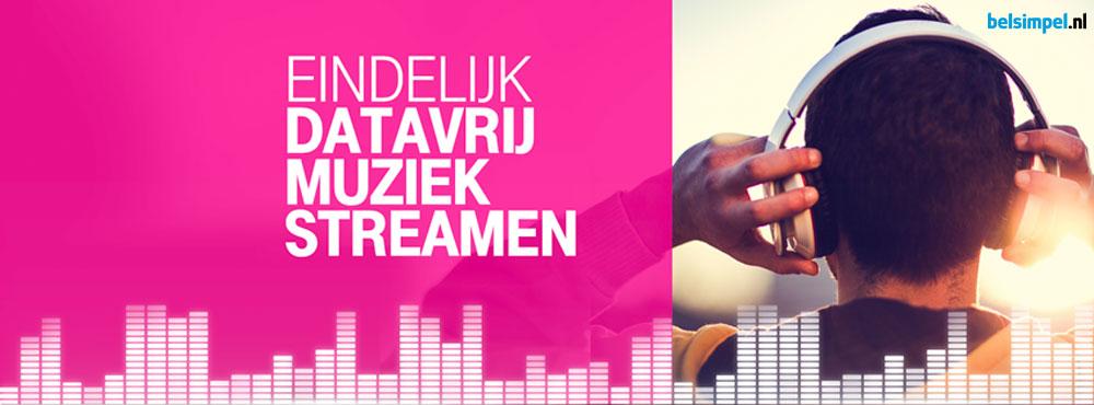 Nieuw: Datavrije Muziek van T-Mobile!