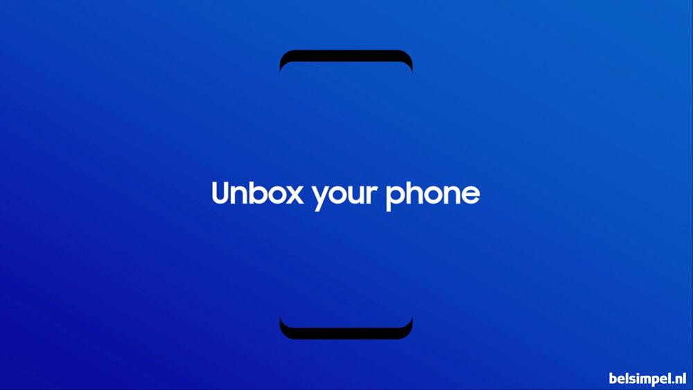 Samsung lanceert UNPACKED 2017-app