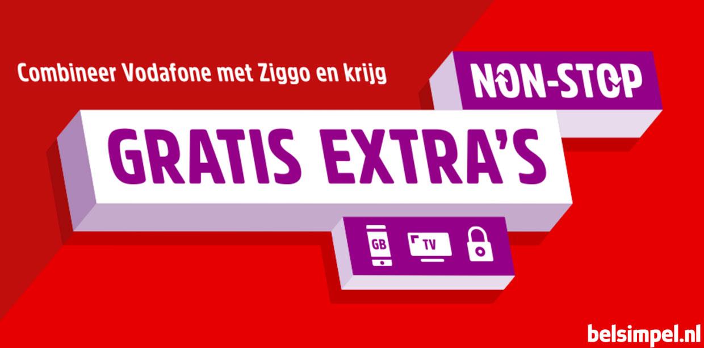Non-Stop Gratis Extra's voor klanten van Vodafone en Ziggo
