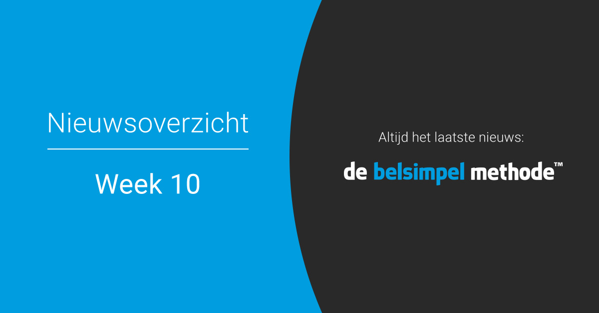 Telecomweekoverzicht van week 10 | 2018