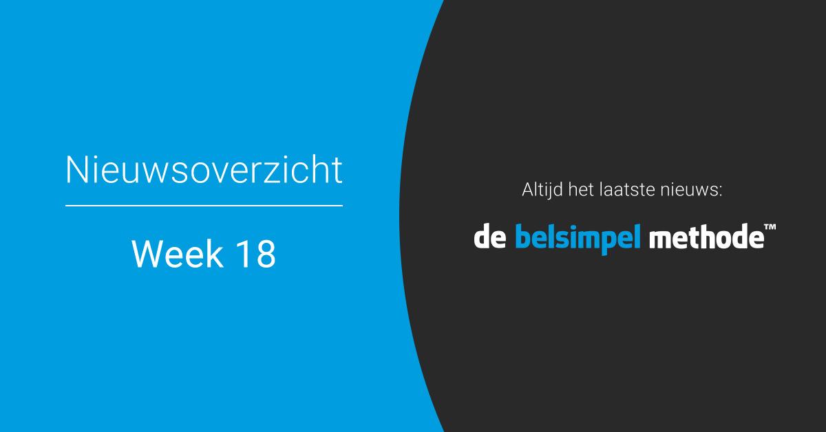 Telecomweekoverzicht van week 18 | 2018