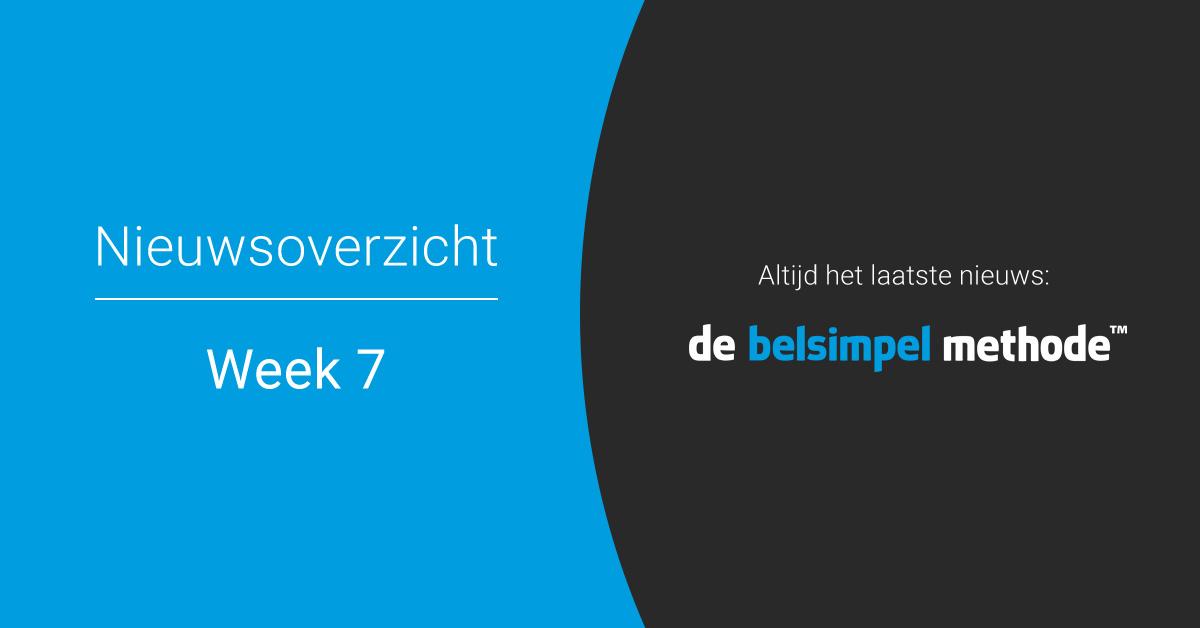Telecomoverzicht van week 7 | 2018