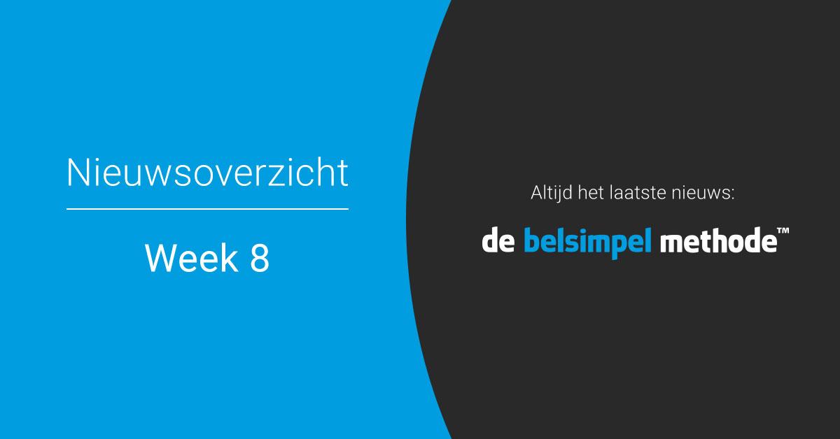 Telecomweekoverzicht week 8 | 2018