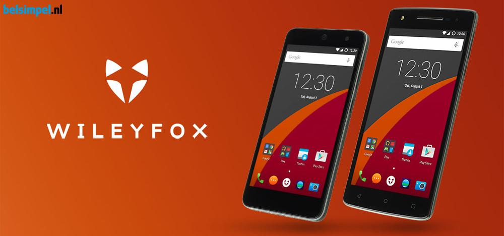 Nu bij Belsimpel.nl: Wileyfox-telefoons!