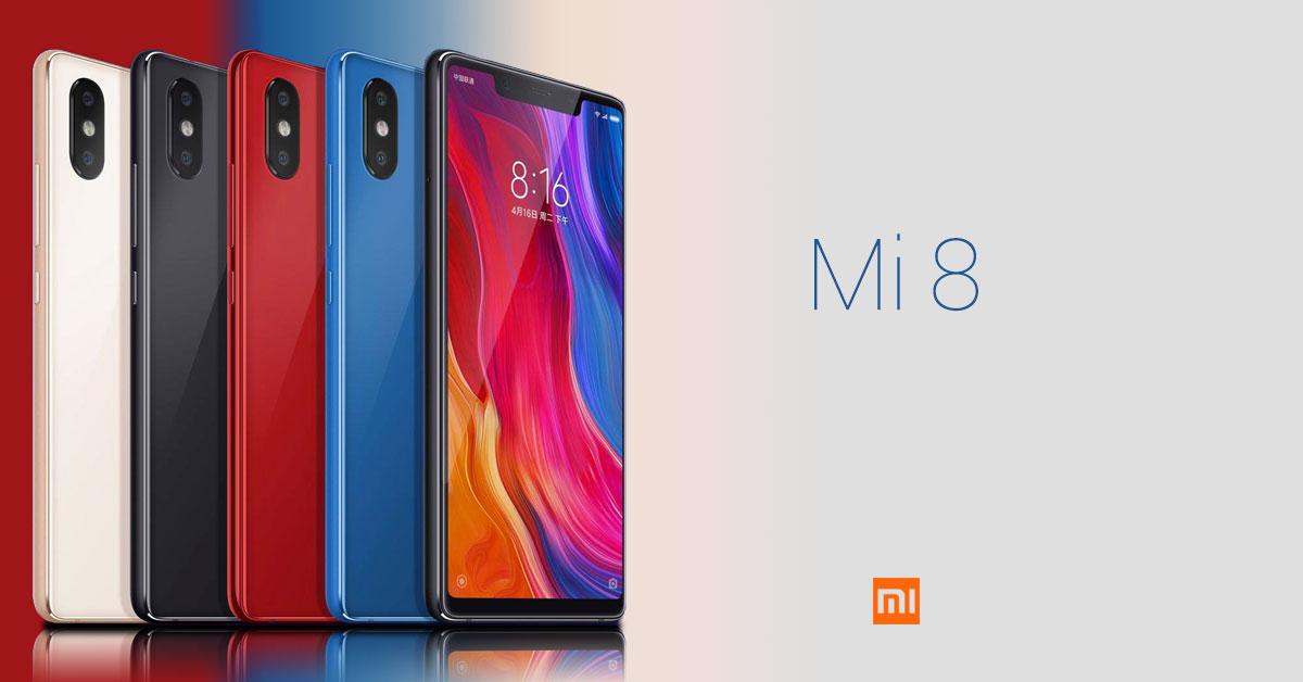 Xiaomi lanceert de nieuwe Mi 8-serie!