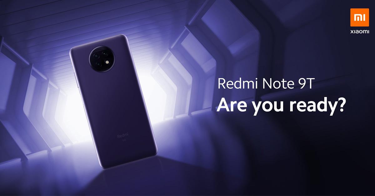 Xiaomi presenteert Xiaomi Redmi Note 9T op 8 januari