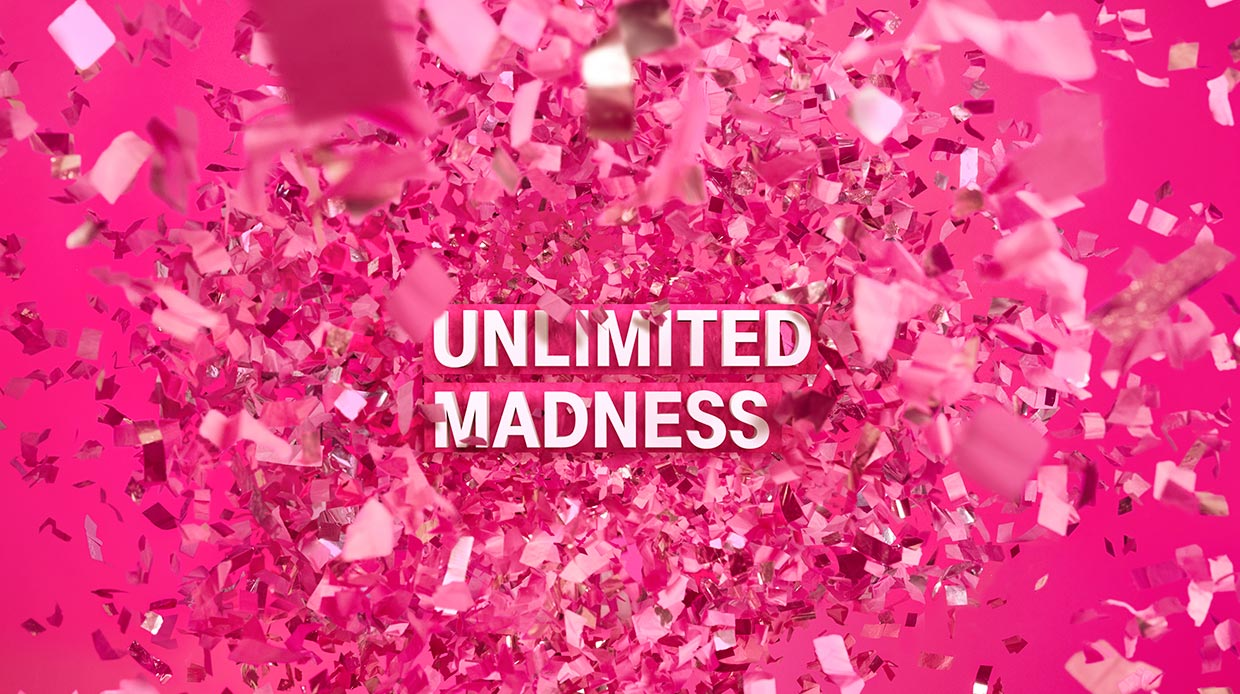 Unlimited Madness bij T-Mobile!