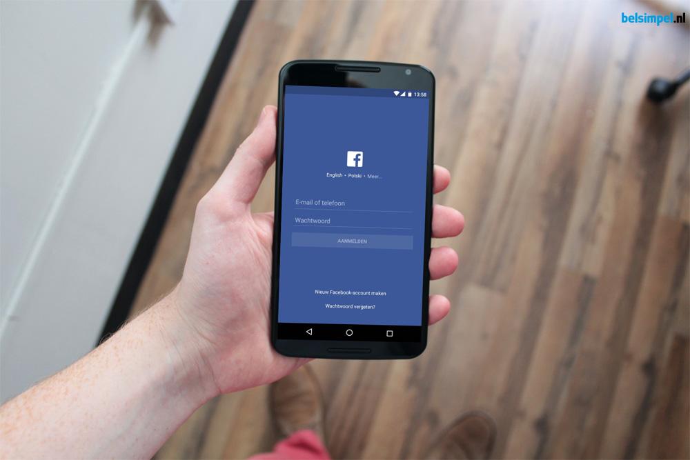Help! Ik word overspoeld met meldingen van Facebook