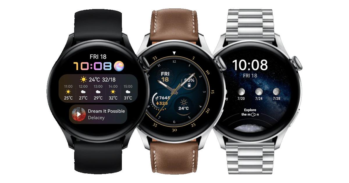Nieuwe Huawei smartwatches en draadloze oortjes!