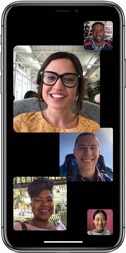 iOS 12, Facetime, iOS 12 FaceTime, iOS 12 FaceTime Group, Group Facetime