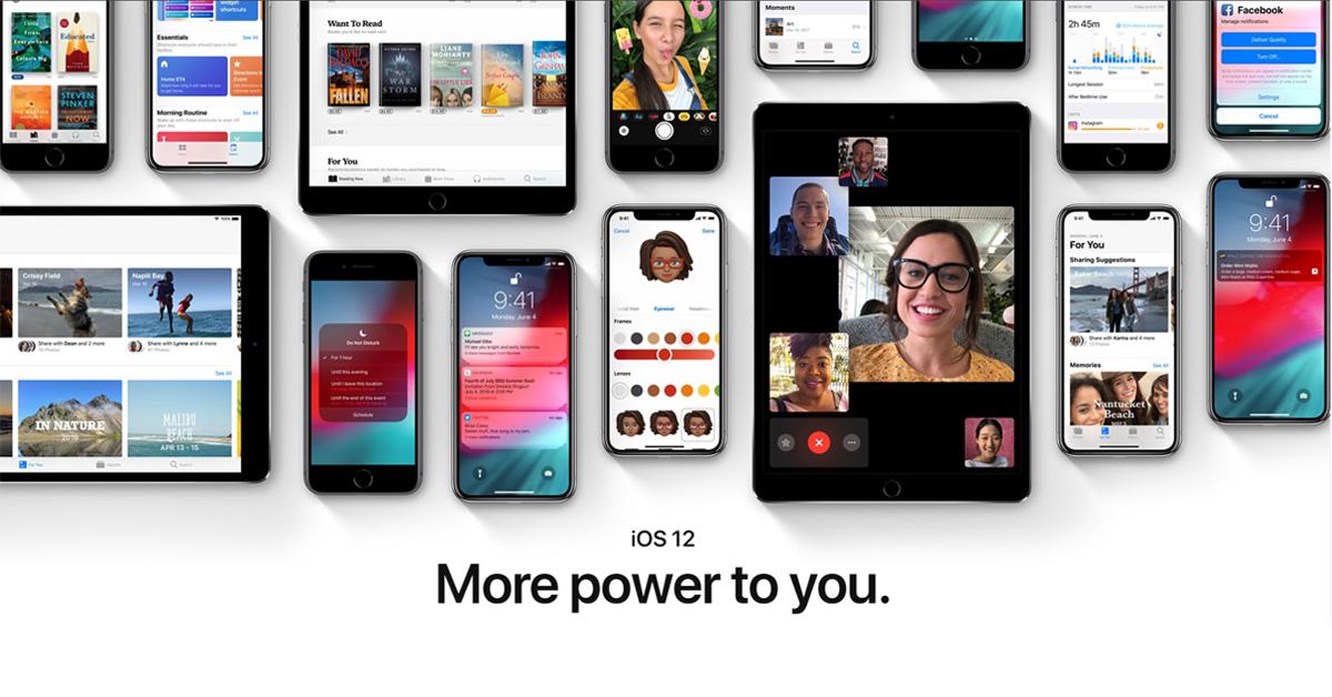 Publieke bèta iOS 12 beschikbaar: dit is er nieuw