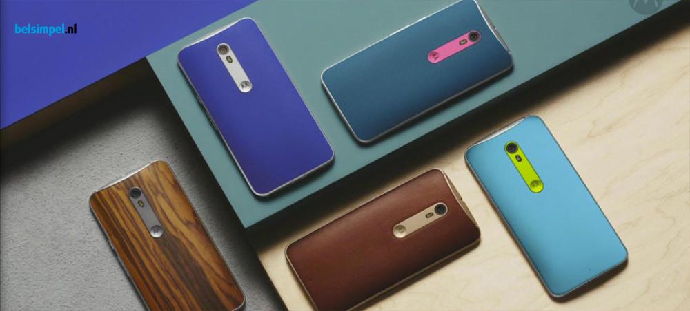 Afbeeldingen nieuwe Motorola Moto X gelekt