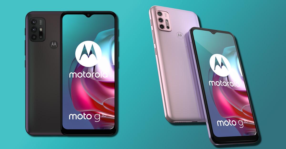 Budgetsmartphone Motorola Moto G30 gepresenteerd