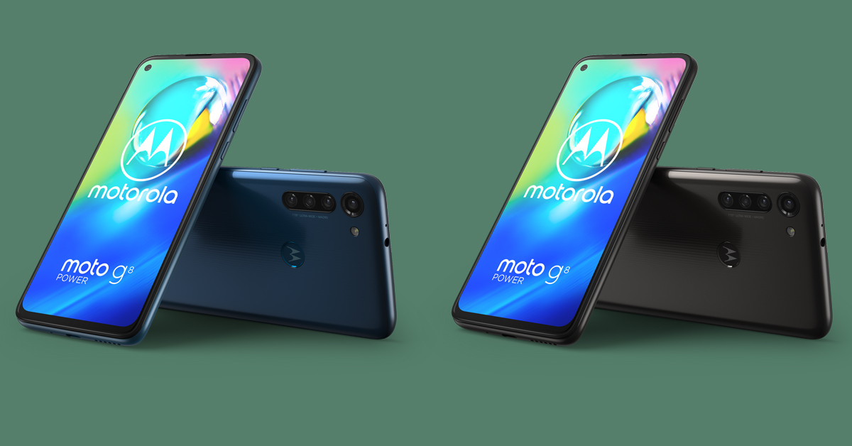 Motorola presenteert Moto G8 Power
