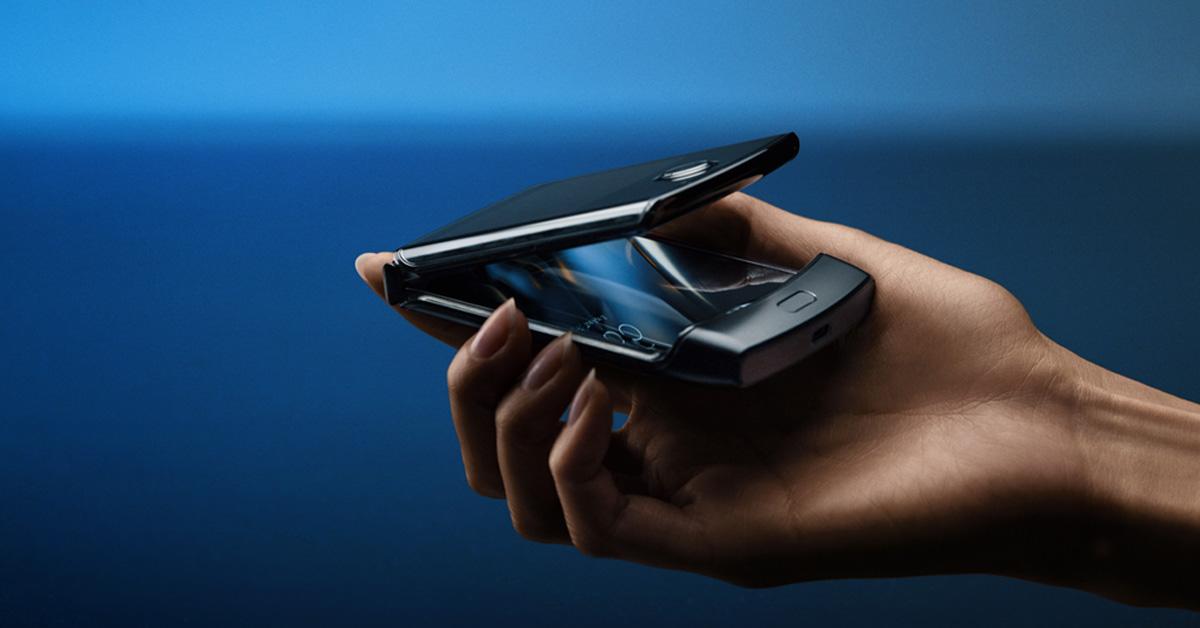 Motorola Razr gepresenteerd in Nederland