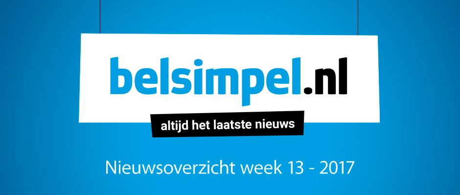 Het telecomoverzicht van week 13 2017