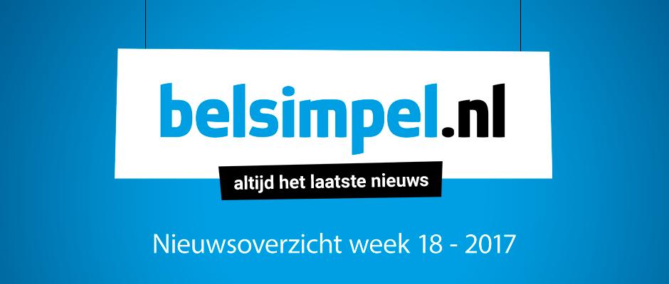 Het telecomoverzicht van week 18 2017