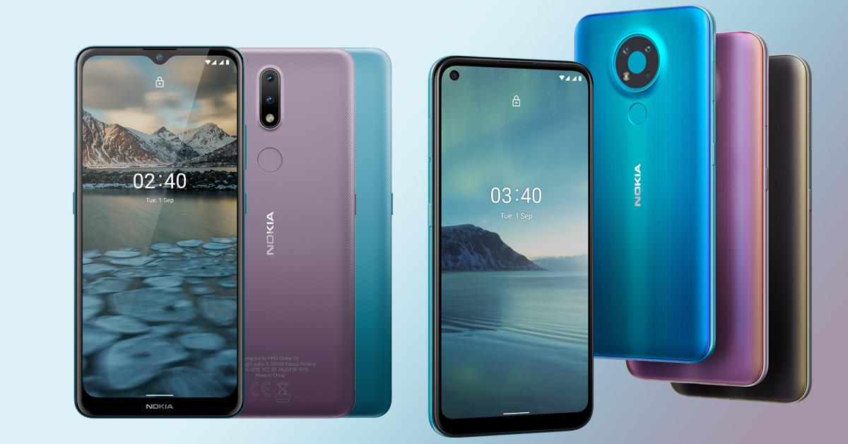 Nokia presenteert de Nokia 2.4 en de Nokia 3.4