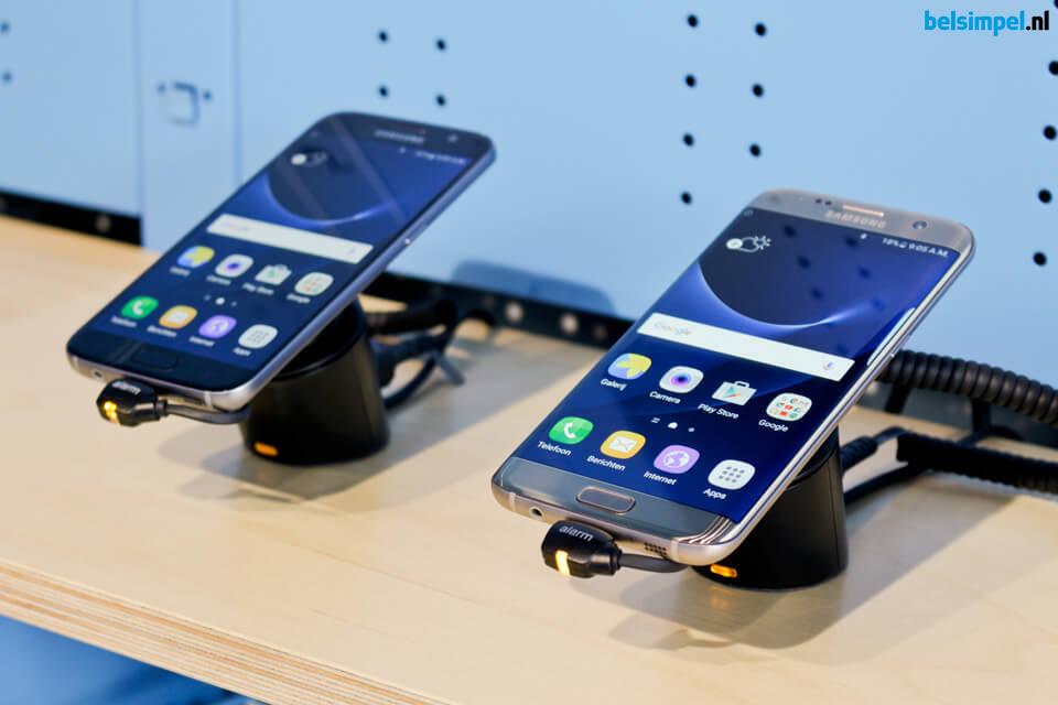 Samsung S7 en S7 Edge in winkels van Belsimpel!