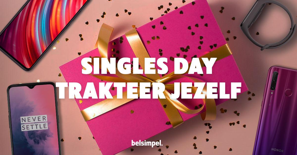 Singles' Day bij Belsimpel