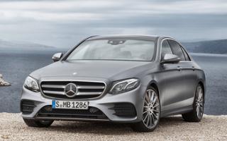 New Mercedes-Benz E-Class Saloon
