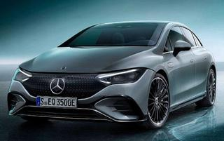 Mercedes reveal EQE electric saloon with 410 mile range. All-New Renault Megane becomes EV crossover