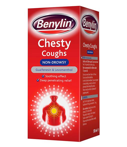 BENYLIN® Chesty Cough Non Drowsy