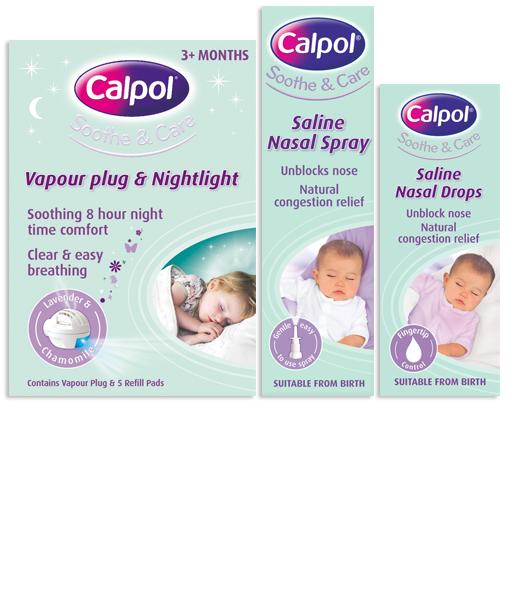 CALPOL® Soothe & Care Range.