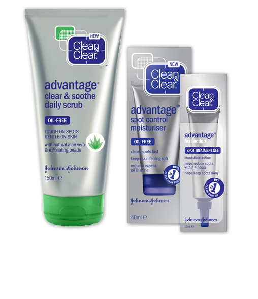 CLEAN & CLEAR® Advantage range