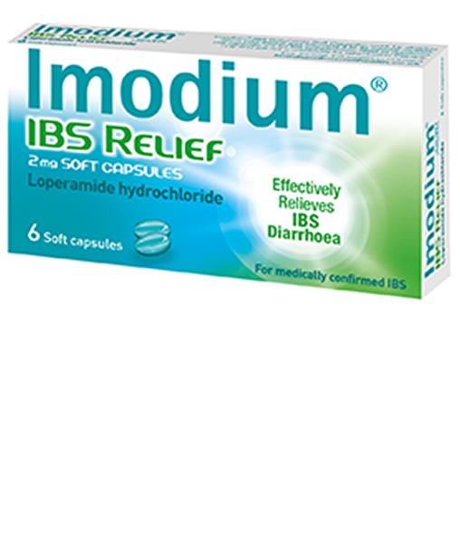 IMODIUM® IBS Relief 2mg Soft Capsules