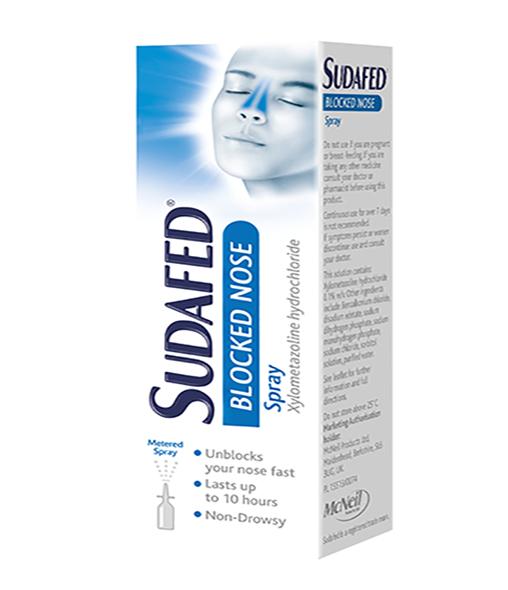 SUDAFED® Blocked Nose spray