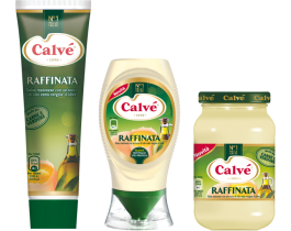 Maionese  Calvé Raffinata (formato Vaso, Tubo oppure Top Down)