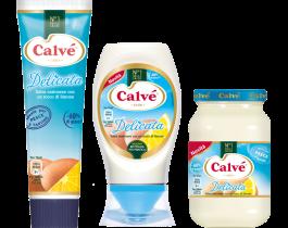 Maionese  Calvé Delicata (formato Vaso, Tubo oppure Top Down)