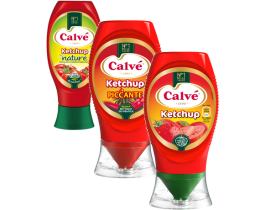 Calvé Ketchup (Classico, Piccante oppure Nature)
