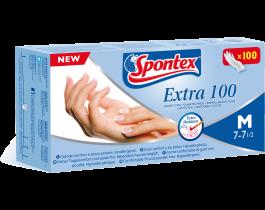 SPONTEX EXTRA 100 GUANTI FINI SENZA POLVERE