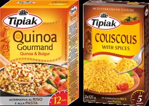 Coupon Sconto di Tipiak Quinoa Gourmand e couscous with spices