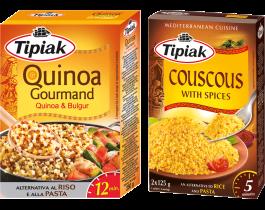 TIPIAK QUINOA GOURMAND E COUSCOUS WITH SPICES