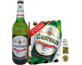 Coupon Sconto di Birra Analcolica clausthaler 33x3 cl o 66cl