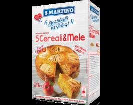 PREPARATO PER TORTA 5 CEREALI E MELE S.MARTINO