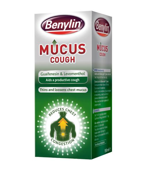 BENYLIN® Mucus Cough