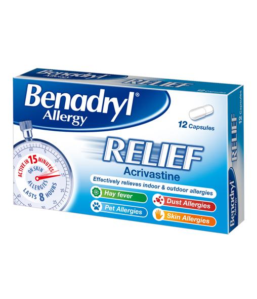 BENADRYL® Allergy Relief 12's