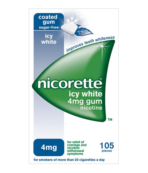 NICORETTE® Icy White 4mg Gum 105s
