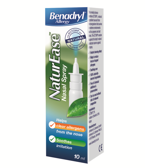 BENADRYL® Allergy NaturEase™ Nasal Spray